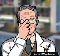 Rupert Ajustando sus lentes