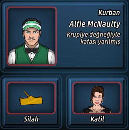 Katil, Eli Alır