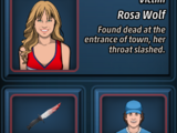 The Death of Rosa Wolf