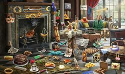 CrimeScene Fireplace