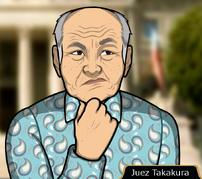 Juez Takakura en Cazador Cazado