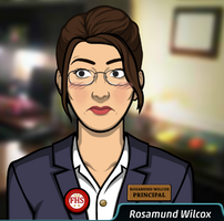 Rosamund Wilcox en Flechazo al corazon