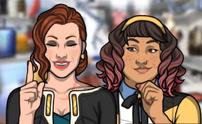 Penelope y Marina 1