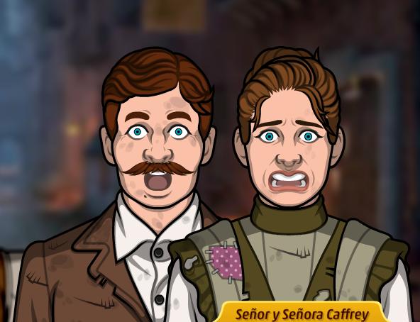 Señor y Señora Caffrey