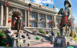Entrada a City Hall