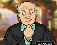 Takakura en Flecha de Injusticia