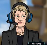 Ripley con auriculares 3