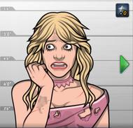Vanessa, como apareció en Presa Facil