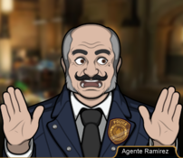 Agente Ramírez en En el Nombre del Padre