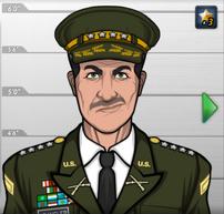 Coronel Spangler en La Raiz de Todo Mal