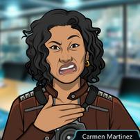 Carmen Disgustada