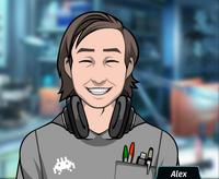 Alex Sonriendo 1