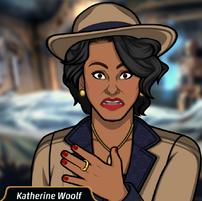 Katherine en Baño de Sangre