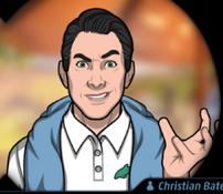 Christian en Vuelo de Ida