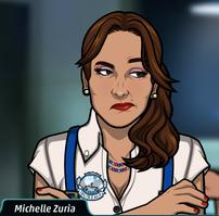 Michelle desconcertada 1