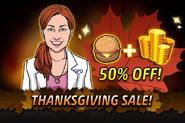 Grace Thanksgiving Sale