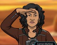 Carmen observando 1