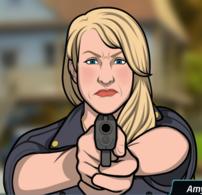 33 Amy Con su Arma