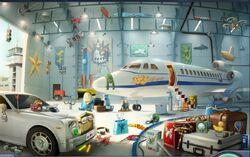 Caso47 hangar