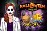 Grace Delaney Halloween Monster Sale