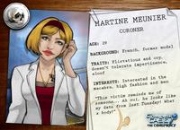 Descripción de Martine Meunier