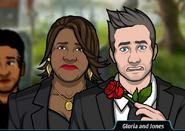 Gloria and Jones