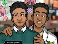 Gabriel y Amir 1