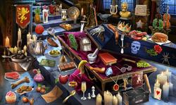 CrimeScene Count Damien's Coffin