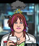 Roxie Sinirli(kahve ile)