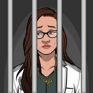 April en prisión