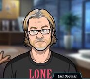 Lars Black Shirt Blushing