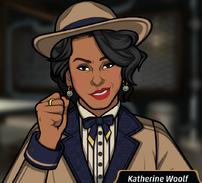 Katherine en Flecha de Injusticia