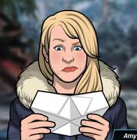 82 Amy Desdoblando un Papel