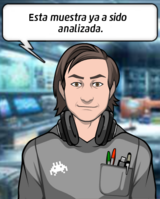 Alex en su Laboratorio