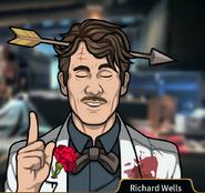 Richard with arrow