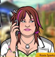 Roxie en A Los Páramos con el Teléfono