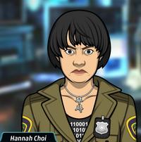 Hannah enojada