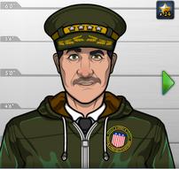 Coronel Spangler en El Ojo de la Tormenta