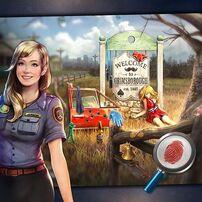 Amy en ilustraciones promocionales.