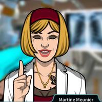 Martine Indicando