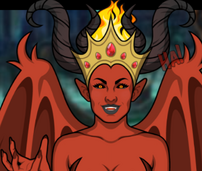 Reina Demonio real