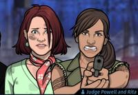 Jueza Powell y Rita 3
