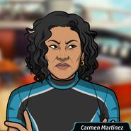 CarmenWearingScubaSuit