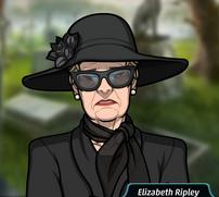 Ripley en un funeral1