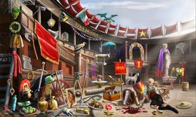 Set del Coliseo - Legado Mortal