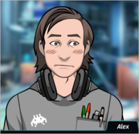 Alex Avergonzado