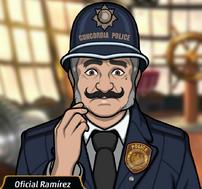 Agente Ramírez en Cazador Cazado