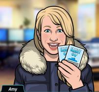 69 Amy Con entradas para la Copa Frosty