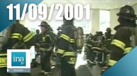 11 septembre 2001 le film des frères Naudet à l'intérieur du World Trade Center - Archive INA