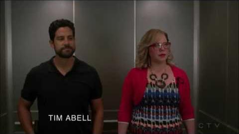Criminal Minds Garcia And Luke Elevator Scenes 12X01
